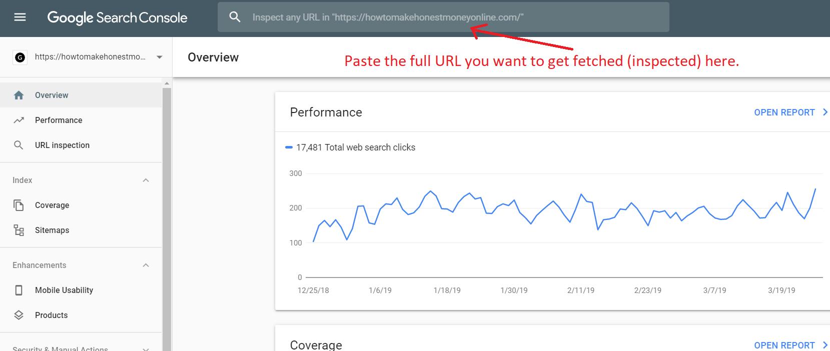 new google fetch tool