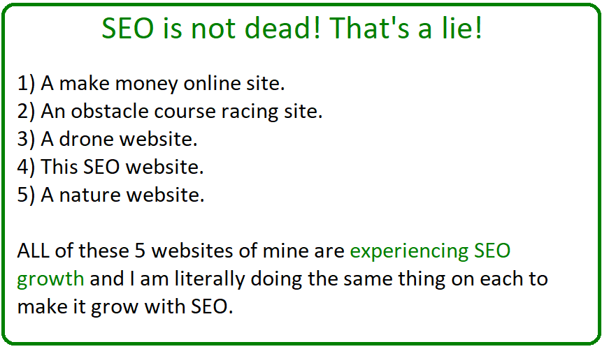 why seo is not dead
