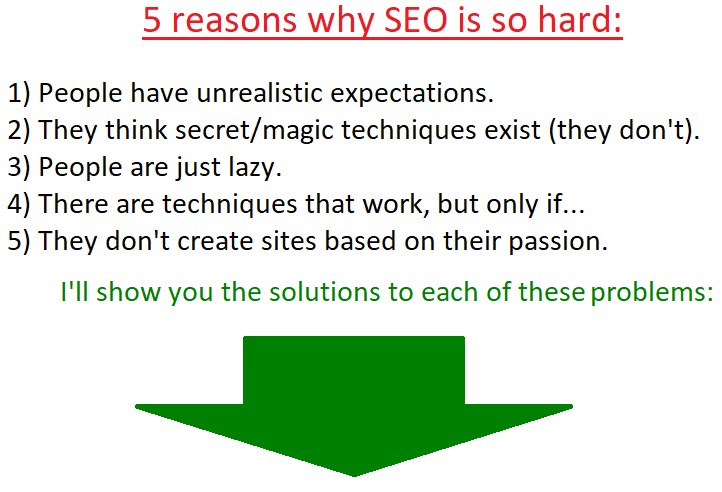 why is seo so hard